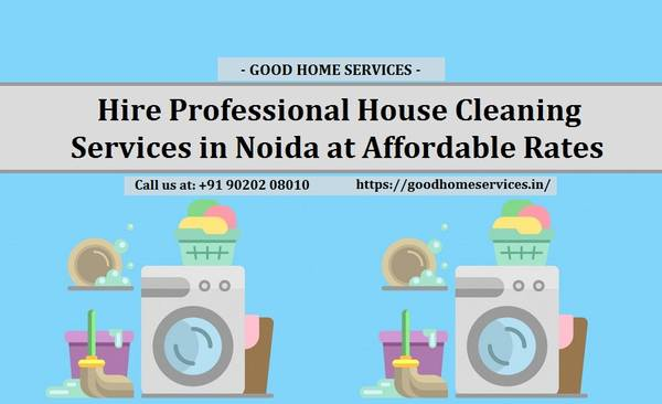 Professional House Cleaning Services in Noida at Affordable
