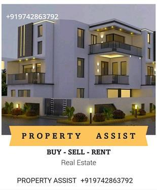 BENSON Town 2 BHK Semi Furnished Flat for RENT
