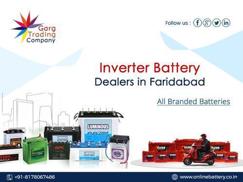 Best Inverter Battery Dealers in Ballabgarh Faridabad
