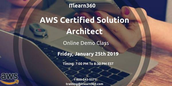 AWS certified Solutions Architect Training in Pune - Demo