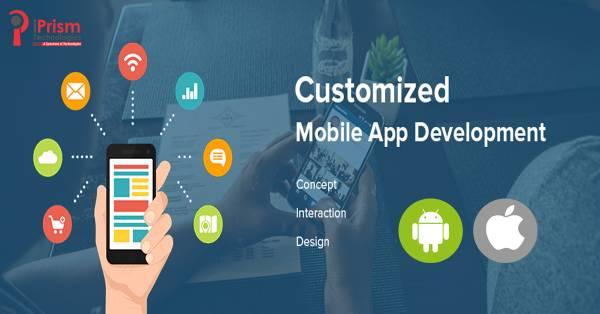 Custom Mobile App Development Company in Hyderabad - iPrism