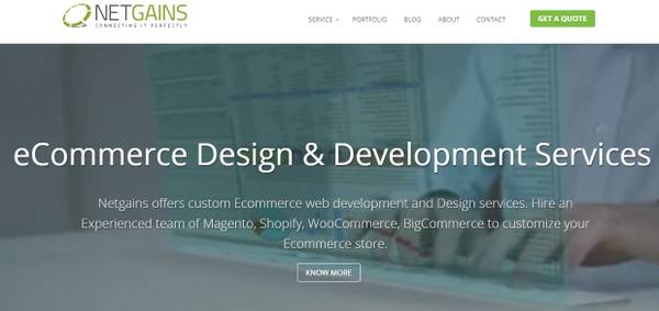 Best web designing & web development company | Netgains