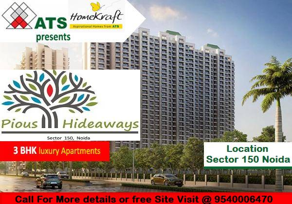 Book Flats in ATS Homekraft Pious Hideaways Sector 150 Noida