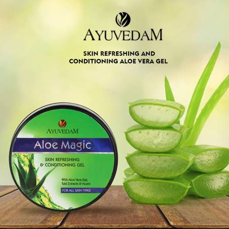 Feel Refresh with Ayuvedam Aloe Magic Aloe Vera Gel