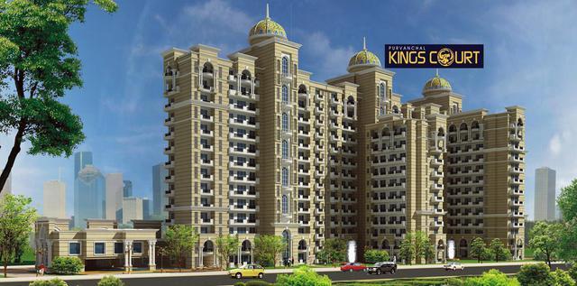 Purvanchal Kings Court 3 4BHK Apartments in Vinamra Khand