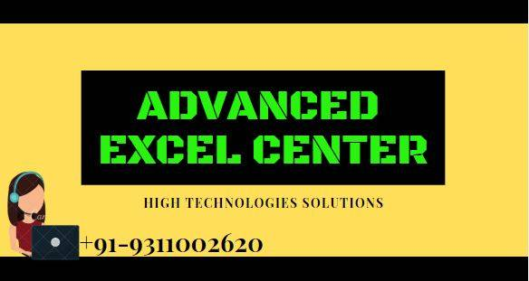 Learn Advanced Excel Training Course in Delhi, Gurgaon and