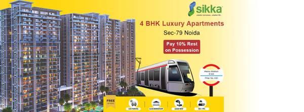 Sikka Samrat offers 4 bhk booking call us: