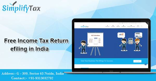 Free online Income Tax Return ITR efiling in India