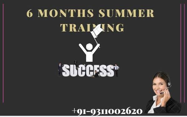 6 Months/Weeks Summer Training in Delhi, Noida & Gurgaon