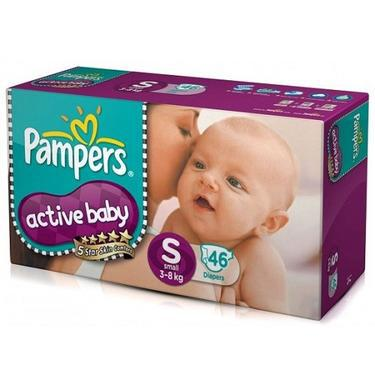 Buy Active Baby Small Diapers Pampers