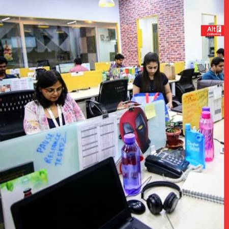 Furnished Office Space On Rent by AltF Coworking