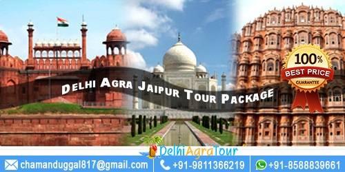Golden Triangle Tour 3 Days - Delhi Agra Jaipur Tour