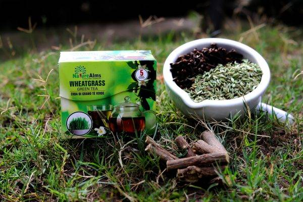 Organic Wheat Grass Green Tea