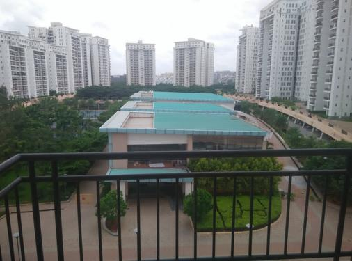 Prestige SHANTINIKETAN: Club House View 2 BHK Furnished Flat
