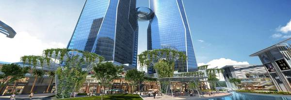 Bhutani Cyberthum A Commercial Project In Noida