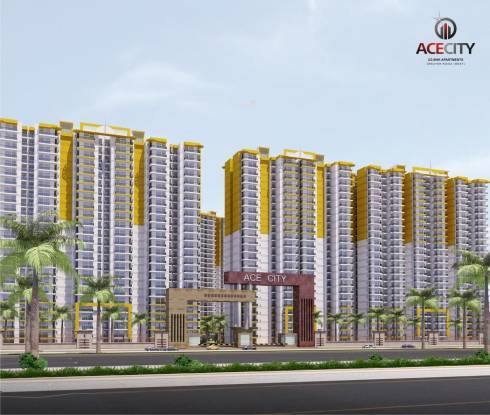 Get splendid 3 BHK apartment in Ace City in Gr. Noida West |