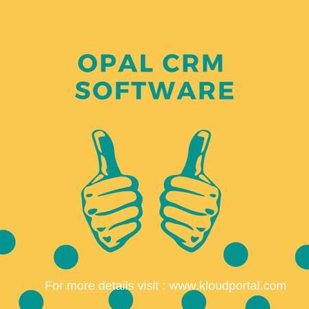OPAL CRM Software - Kloud Portal