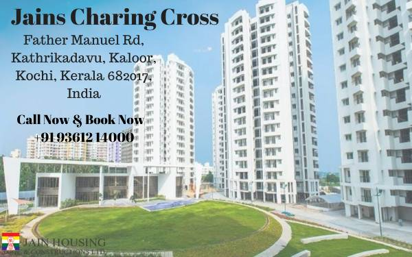 Ready to move in flats for sale in Kathrikadavu
