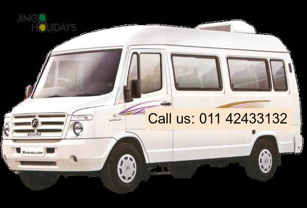 Book Tempo Traveller in Rohini - Jingo Holidays