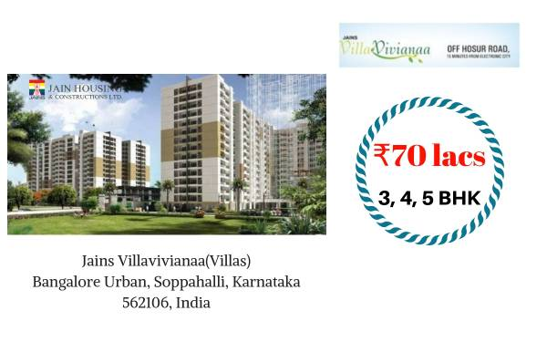 Luxury apartments in Challaghatta Bangalore | Budget