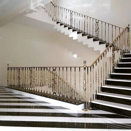 Modern Staircase Designs By Grande Forge India