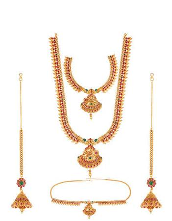 Buy Bridal Jewellery Set Online at Anuradha Art Jewellery