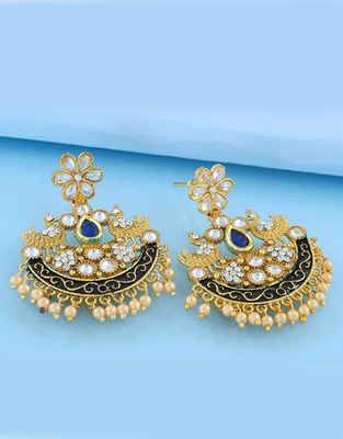 Online Fashion Earring Designs For Women | Anuradha Art