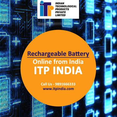 Rechargeable Battery Online from India ITP India