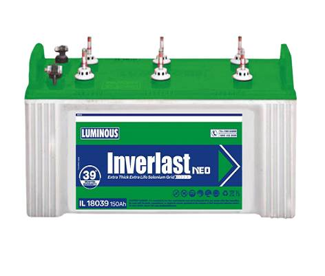 Buy Luminous Inverter Battery Online in Delhi NCR