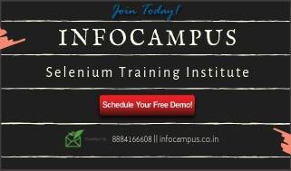 Selenium training in Bangalore