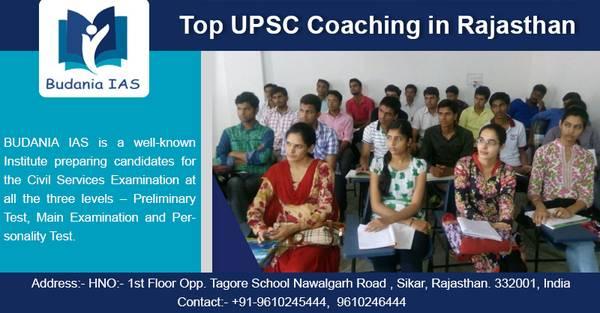 Budania IAS: Top UPSC Coaching in Rajasthan
