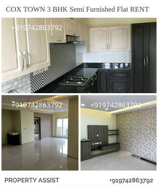 COX TOWN BRAND NEW Semi Furnished Flat for RENT