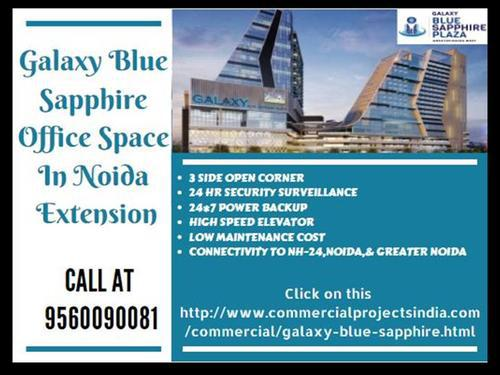Office Space in Noida Extension Galaxy Blue Sapphire