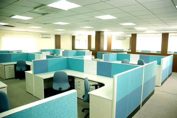 sq.ft plug and play office space for rent at residency