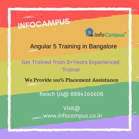 Join best Angular 4 Training in Bangalore