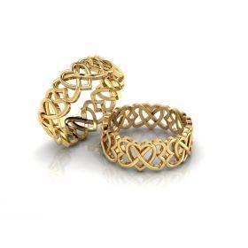 "Buy Diamond Rings Online | ""LOVE ETERNITY"" HMH Ring"