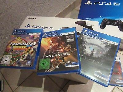 My brand new ps4 pro 1tb with VR bundle and 12 free games