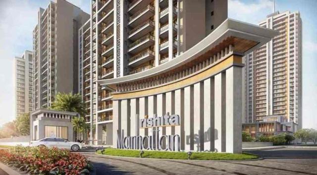 Rishita Manhattan 234BHK Apartments in Gomti Nagar Ext