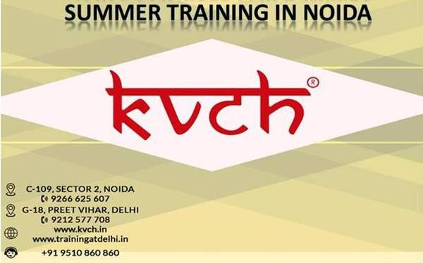 LIVE PROJECT BASED 6 WEEKS SUMMER TRAINING BY KVCH