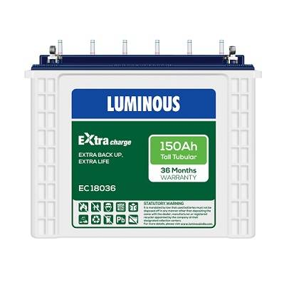 Luminous Inverter Battery Online in Delhi
