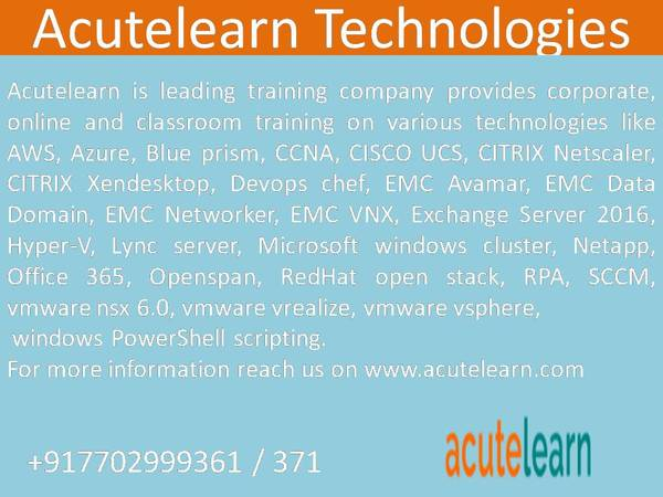 MS Hyperv Training in Bangalore