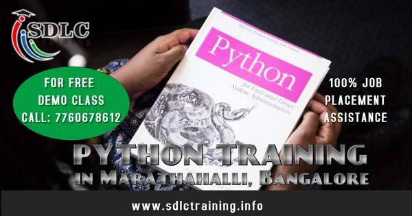 Python Training Course in Marathahalli, Bangalore