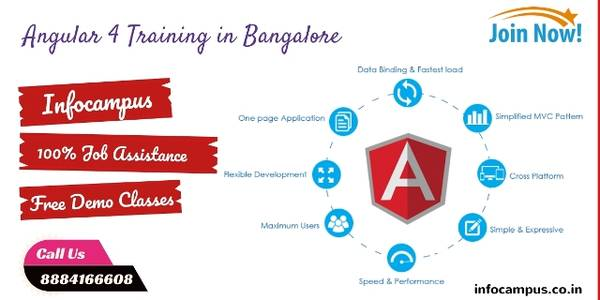 Join us Angular 4 Training in Bangalore