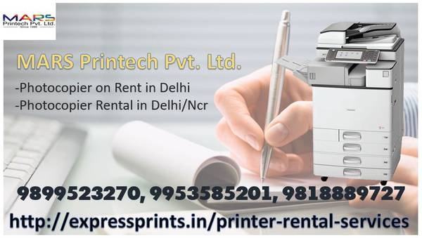 Photocopier on rent in Delhi ncr at Expressprints.in