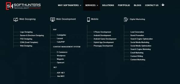 Softhunters Ecommerce Website development Company in Jaipur