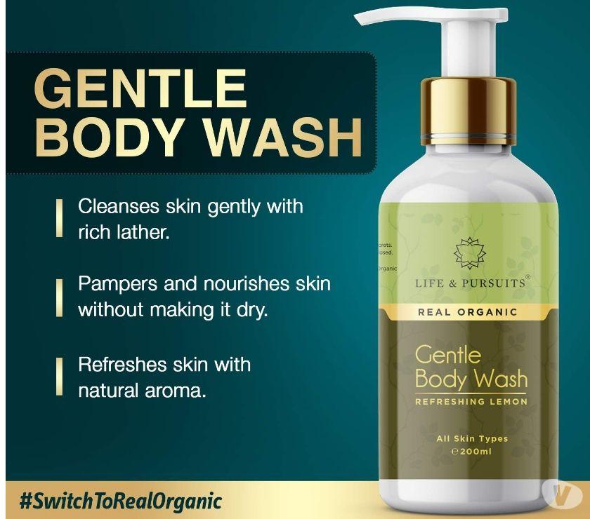 Life & Pursuits Moisturizing Organic Body Wash, 200ml