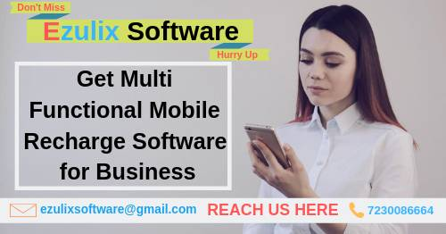 Hire Best Multi-Functional Mobile Recharge Software for Your