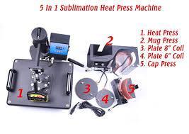 heat press t shirt printing machine mug printing machine