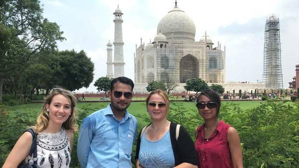 Taj Mahal Tour Via Car/ Train Complete Tour Package
