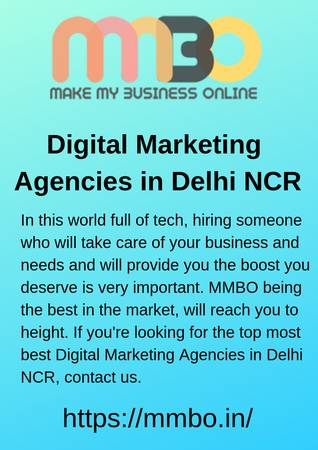 Best Digital Marketing Company In Delhi NCR